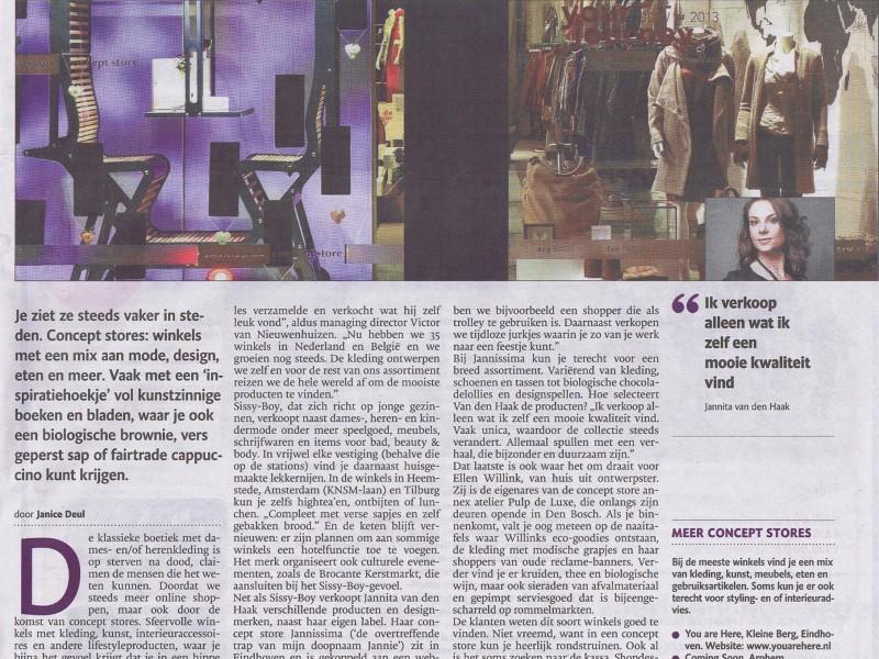 Eindhovens Dagblad (NL) January 2014