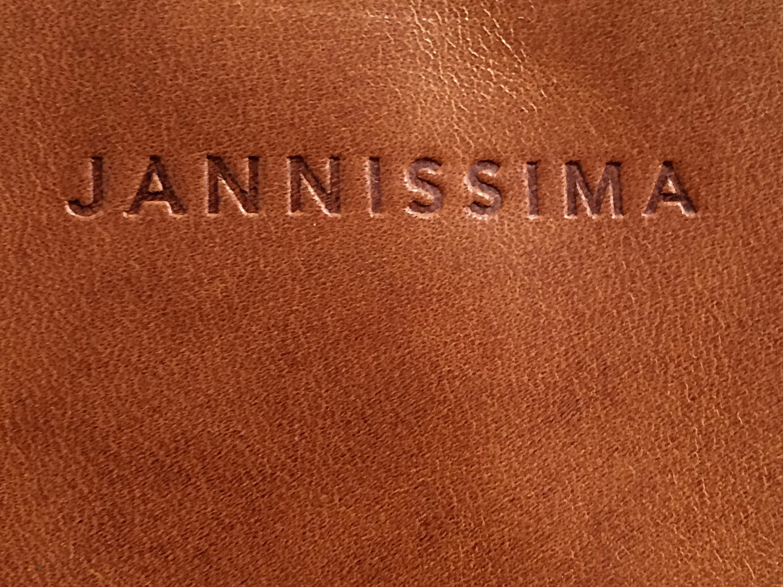 Jannissima-1336-handbag m-eco cognac glamour-logo-399,-eurokopie
