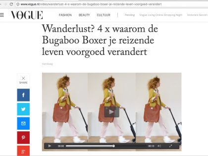 VOGUE.NL BUGABOO BY JANNISSIMA